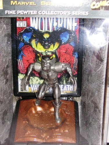 Limited Edition Pewter Statue of Wolverine 1993 Modern Age Edition by Fine Pewter Collector's Series