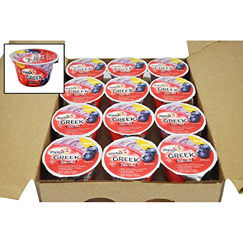 Yoplait Greek Blended Blueberry Yogurt, 5.3 Ounce -- 12 per case. by General Mills (Image #1)