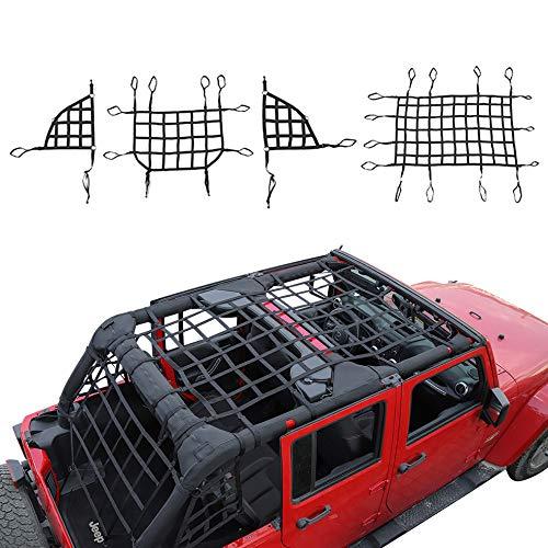 jeep top cargo net - 4