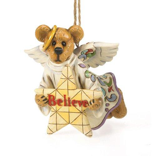Enesco Jim Shore for Boyd's Bears Believe Resin Ornament