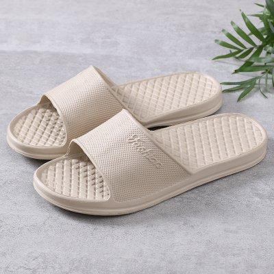 salle 45 femmes fond dérapant pantoufles hommes mâle de Summer en CWJDTXD couple anti bains mousse sandales intérieur d'été Pantoufles home et maison légères pantoufles mou kaki ZwxqFpvg