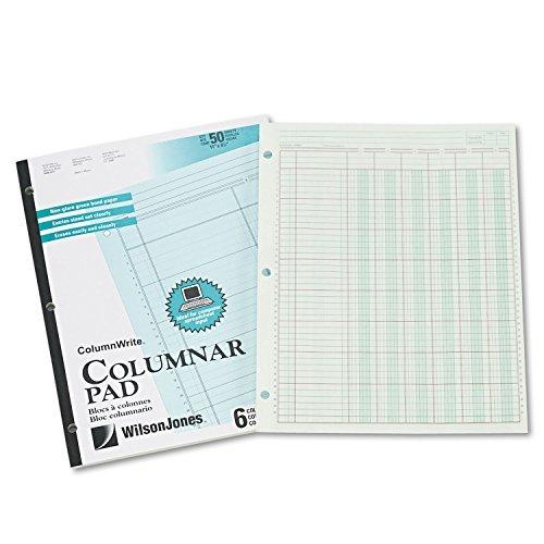 Wilson Jones® Column Write® Side Bound Columnar Pad, Model: WLJG7206A, Office Shop