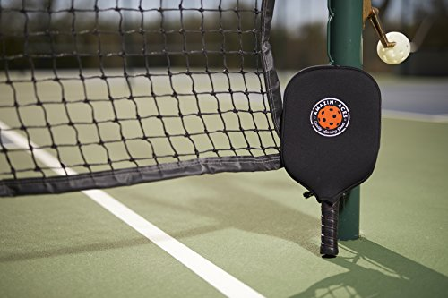 Amazin' Aces Pickleball Paddle Covers by Set of Two Cases | Neoprene Cover Fits Most Rackets | Sleeves Protect Your Paddles From Scrapes & Dings