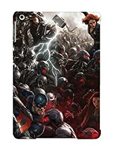 New Style Trinalgrate Avengers Age Of Ultron Concept Art Premium Tpu Cover Case For Ipad Air