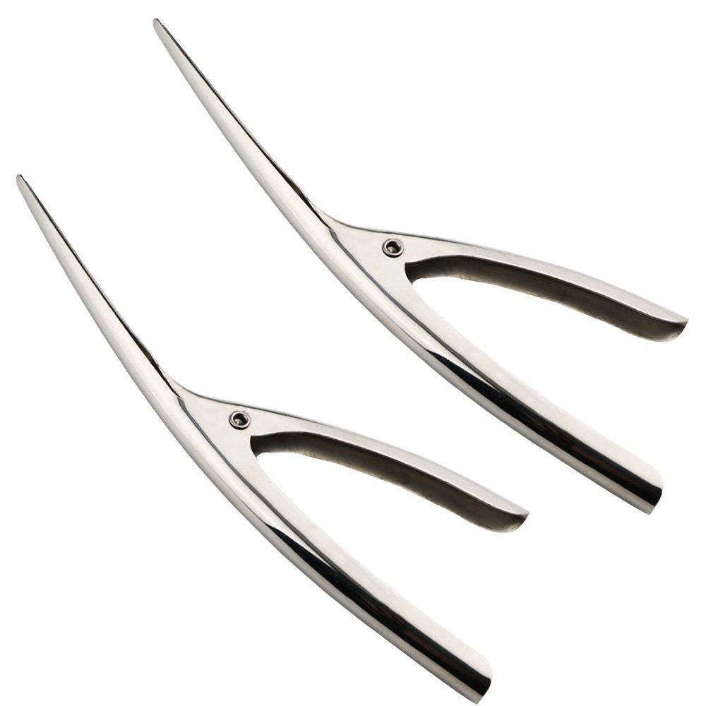 KINYOOO 2pcs/Set Shrimp Prawn Peeler, Premium Stainless Steel Shrimp Peeler Knife, Professional Stainless Steel Shrimp/Mantis Shrimp Peeling.