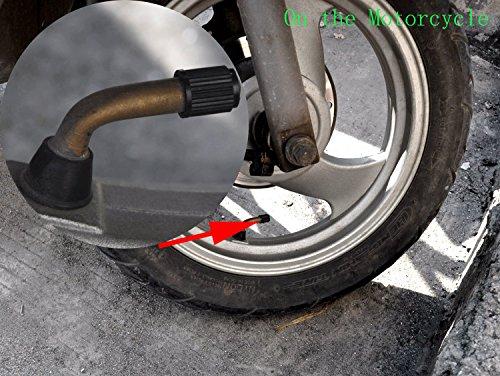 Cutequeen Red Tire Air Valve Caps Fit All Schrader valve