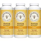 Burt's Bees Baby 100% Natural Dusting Powder, 7.5 Ounces (Pack of 3) (Packaging May Vary)