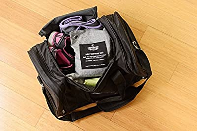 California Home Goods 8 Pack - Charcoal Deodorizer Gym Bag & Shoe Odor Neutralizer Pack (4 x 200g & 4 x 50g), 100% Natural Chemical-Free, Bamboo Charcoal Air Purifying Bag, Unscented Bags