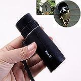 XMK 30x25 Mini Focus Telescope Optics Zoom Green Film HD Monocular Scalable Spy