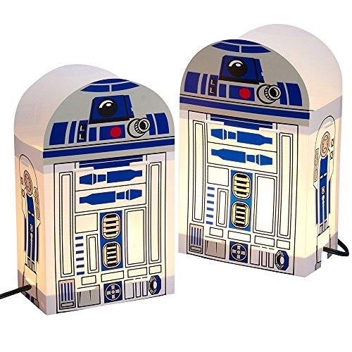Kurt Adler 5-Light Star Wars R2D2 Luminary Outdoor Decor]()
