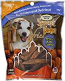 Carolina Prime Pet 45086 Peanut Butter Coated Sweet Tater Fries Treat For Dogs ( 1 Pouch), One Size