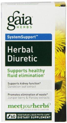 Gaia Herbs Herbal diurétique liquide Phyto-capsules, 60 comte