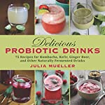 Delicious Probiotic Drinks: 75 Recipes for Kombucha, Kefir, Ginger Beer, and Other Naturally Fermented Drinks 3 The health benefits of probiotics are no secret—doctors from both the Western and Eastern medicine camps sing the praises of probiotics for their positive effects on digestion, metabolism, and the immune system. Enthusiasts of kombucha—a bubbly probiotic drink now sold regularly in stores from Manhattan delis to Seattle food co-ops—point to its high levels of B vitamins and amino acids, improving mood, energy levels, joint function, ligament health, and skin health. Now you can learn to make kombucha, as well as numerous other probiotic drinks, at home!With clear step-by-step directions, beautiful photographs, and more than seventy-five recipes, this is the ultimate guide to homemade probiotic drinks. You'll find numerous recipes for:KombuchaJunKefirLacto-fermented lemonadeGinger beerCultured vegetable juicesAnd more!In addition, you'll find recipes for making yogurt, smoothies, and kefir ice cream. Fermenting drinks may seem daunting, but Julia Mueller shows how it can be fun, much more cost-effective than buying ready-made drinks from the store, and delicious!Skyhorse Publishing, along with our Good Books and Arcade imprints, is proud to publish a broad range of cookbooks, including books on juicing, grilling, baking, frying, home brewing and winemaking, slow cookers, and cast iron cooking. We've been successful with books on gluten-free cooking, vegetarian and vegan cooking, paleo, raw foods, and more. Our list includes French cooking, Swedish cooking, Austrian and German cooking, Cajun cooking, as well as books on jerky, canning and preserving, peanut butter, meatballs, oil and vinegar, bone broth, and more. While not every title we publish becomes a New York Times bestseller or a national bestseller, we are committed to books on subjects that are sometimes overlooked and to authors whose work might not otherwise find a home.