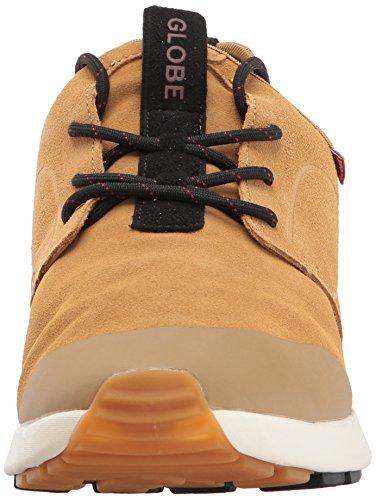 Globe Men's Dart LYT XC Skate Shoe, Tan/Black, D(M) US Tan/Black