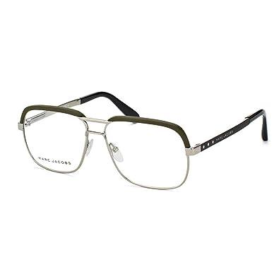 Marc Jacobs Montures de lunettes Pour Homme 632 - L0X  Ruthenium   Khaki    Black 5afd7abd5e02