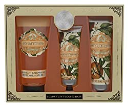 AAA Floral Orange Blossom Bath & Body Collection Gift Set by AAA