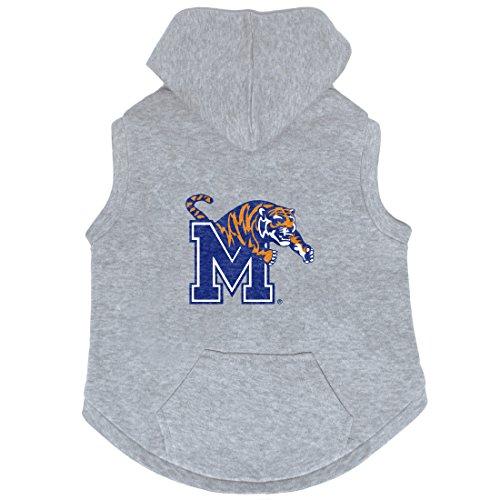 (NCAA Memphis Tigers Pet Hooded Crewneck, Medium)