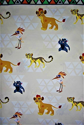 Pride King Rock Lion (Lion King Kion The Prince Of Pride Rock (FLAT SHEET ONLY) Size TWIN Boys Girls Kids Bedding)