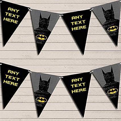 Guirnalda de cumpleaños para niños de Batman de Superhéroe ...