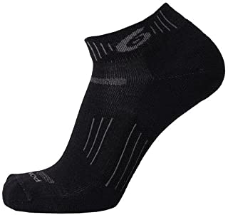 product image for point6 Hiking Essential Extra Light Mini Crew Sock - Black X-Large