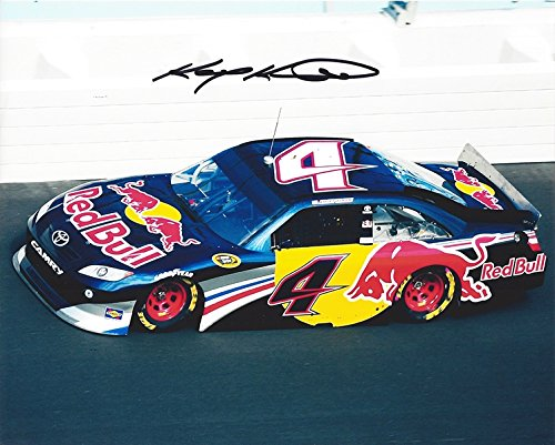 Kasey Kahne Memorabilia - AUTOGRAPHED 2011 Kasey Kahne #4 Red Bull Racing Team ON-TRACK RACING (Sprint Cup Series) Signed Collectible Picture NASCAR 8X10 Inch Glossy Photo with COA