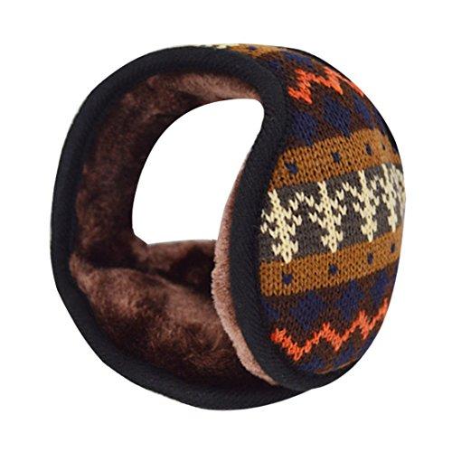 Monique Unisex Knit Earmuffs Ear Muffs Winter Sport Outdoor Travel Thick Warm Earmuffs