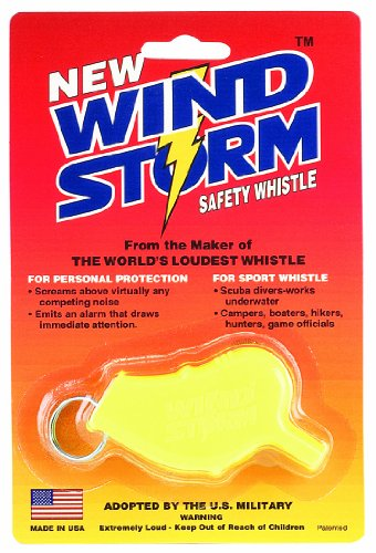 Windstorm WINDSTORM Safety Whistle Yellow product image