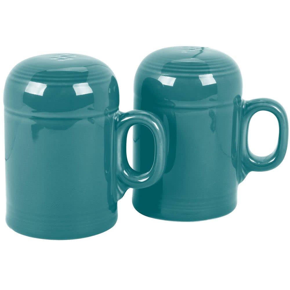 756107フィエスタターコイズRangetop Salt and Pepper Shaker Set – 4 /ケースby Tabletop King B077S5CX3D