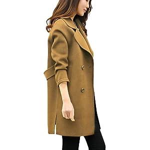Theshy Damen Winterjacke Wintermantel Lange Daunenjacke Jacke Outwear  Frauen Winter Warm Daunenmantel Herbst Winter Jacke Lässige 47b3586eca