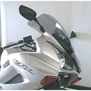 Cupula MRA Pantalla Racing HONDA VFR 800 02- negro Pantalla Racing: Esta forma de pantalla ha sido desarrollada para el motociclismo y es utilizada por numerosos equipos de competición. La pantalla Racing es como la pantalla Original en su parte inferior pero lleva en medio una elevación con forma de cúpula. Así se reduce la presión del viento en el casco, mejorando la aerodinámica. EAN / núm. de pedido.:4025066081066 Color:negro longitud:470 mm(= +40mm)