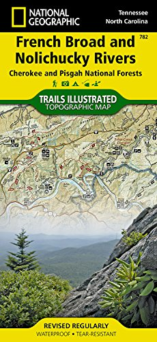 French Broad and Nolichucky Rivers [Cherokee and Pisgah National Forests] (National Geographic Trails Illustrated Map)
