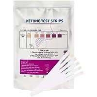Hemoton 200Pcs Tiras de Teste de Cetona Tiras de Teste Urinário Tiras de Papel de Monitoramento de Cetona No Sangue…