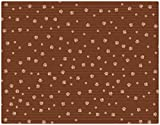 Drymate Ex Large Cat Litter Box Mat with Paw Imprint Design, 28-Inch by 36-Inch, Tan
