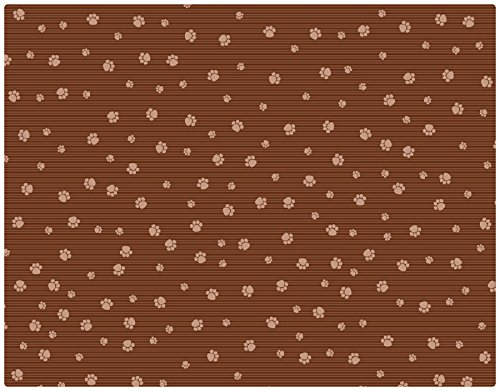 Drymate Ex Large Cat Litter Box Mat with Paw Imprint Design, 28-Inch by 36-Inch, ()