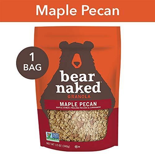 (Bear Naked Maple Pecan Granola - Non-GMO | Kosher | Whole Grains - 12 Oz)
