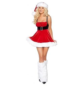 842ff5a59ca Amazon.com  Sexy Women s 1Pc Santa s Envy Christmas Costume  Clothing