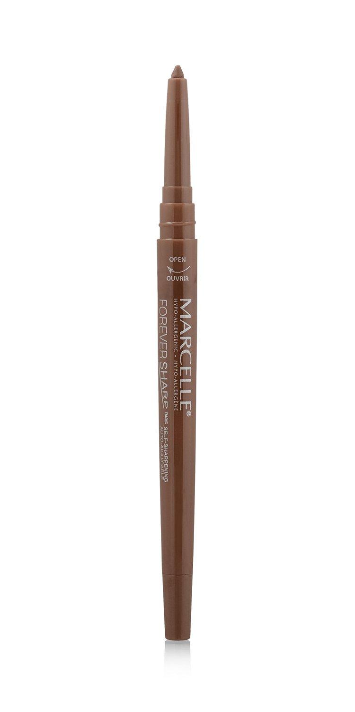 Marcelle Forever Sharp Waterproof Kohl Eyeliner, Dark Brown, Hypoallergenic and Fragrance-Free, 0.25 g Groupe Marcelle Inc. 167885