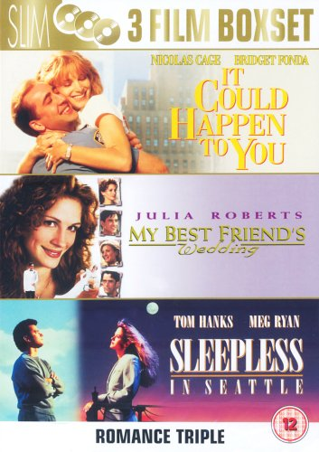 Amazon Com It Could Happen To You 1994 My Best Friend S Wedding 1997 Sleepless In Seattle 1993 Dvd Movies Tv