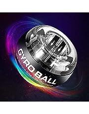 LED Autostart Range Power Wrist Spinner met Counter Arm Hand Muscle Force Trainer Fitness Equipment Polsbal met schitterende lichten zwart