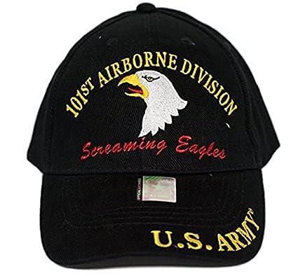 Amazon.com  U.S. Army 101st Airborne Screaming Eagles Black Embro ... 5bdcb3583532