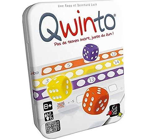 Qwinto - Juego de mesa - Gigamic (JNQW): Amazon.es: Juguetes y juegos