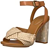 See By Chloe Women's Isida Jute Heeled Sandal, Natural, 39.5 M EU (9.5 US)