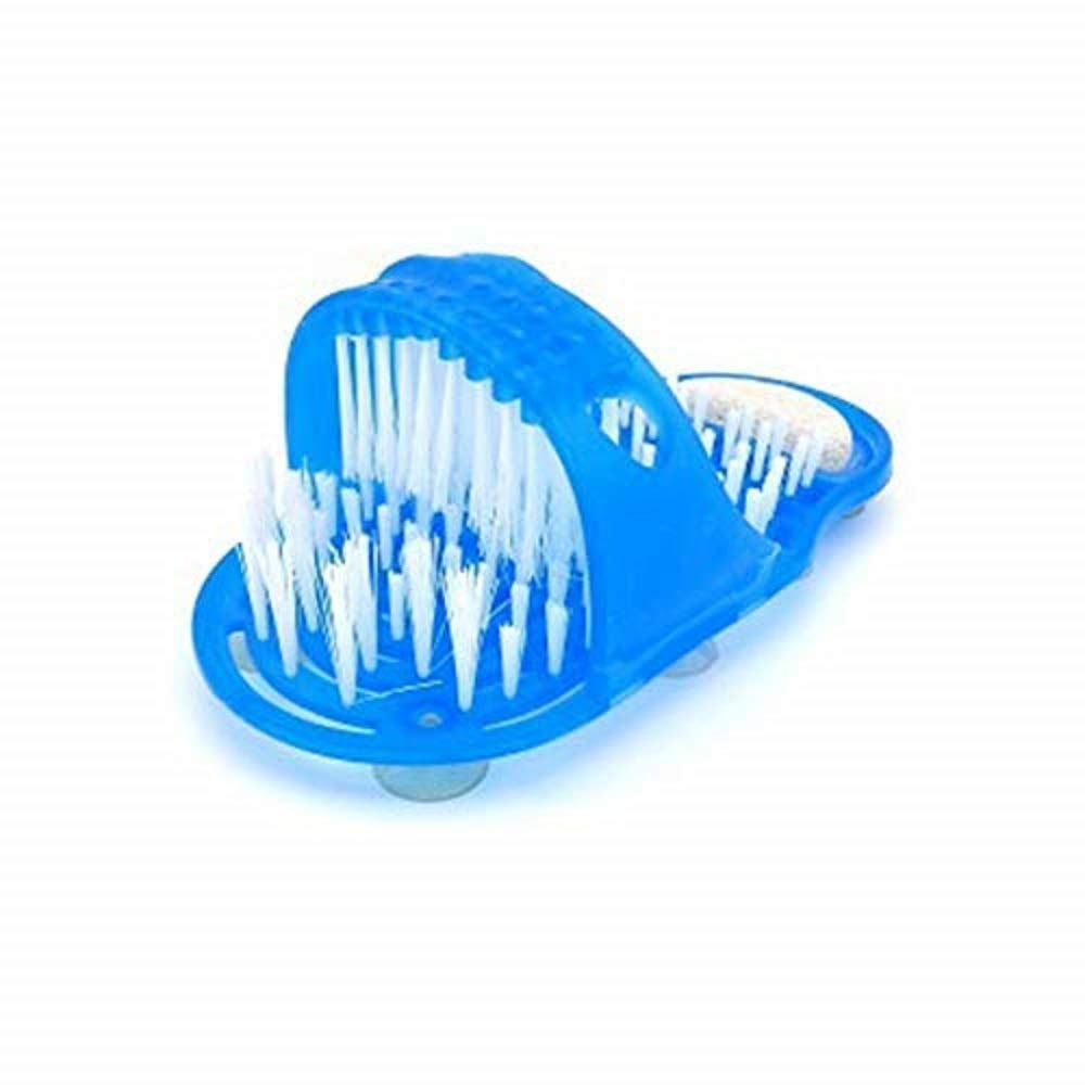 Massage Brush Slipper, Foot Care Supply Creative Exfoliating Remove Dead Skin Promote Blood Circulation Relaxation Pain Relief Foot Scrub Brush Slipper With Anti - slipping Suckers For Bathroom by Xinhuamei (Image #1)