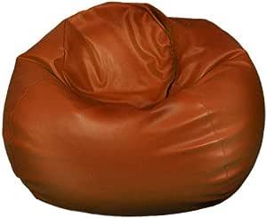 EbraWResha Beanbag Leather, Brown