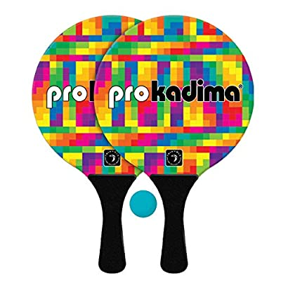 Kadima Pro Pixel Bright Paddle Set: Sports & Outdoors
