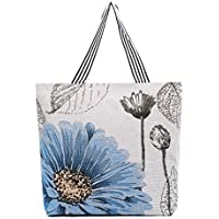 LINJUN Women's Canvas Shoulder Hand Bag Tote Bag(There are different sizes and patterns to choose from)