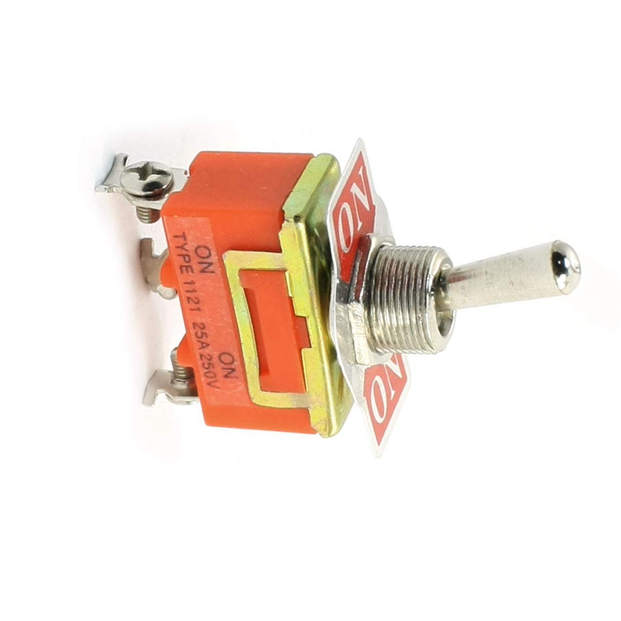 Aexit Palanca de oscilaci/ón del conmutador de palanca SPDT ON ON 2 model: J3951VIX-8459KO Posiciones 250V 25A