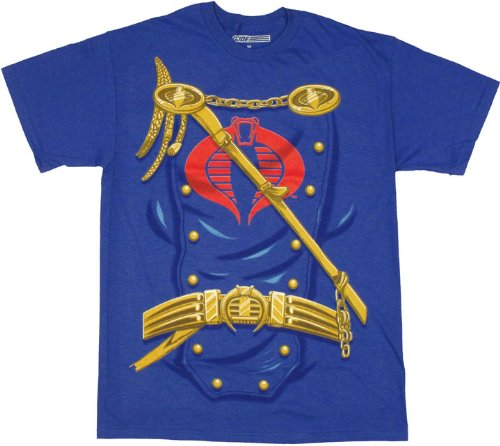 G.I. Joe Cobra Commander Costume T-shirt -