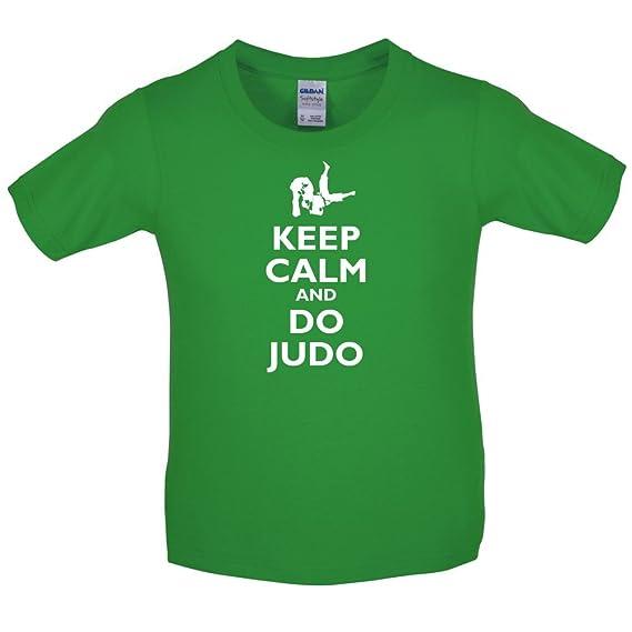 Keep Calm And Do Judo Kinder T Shirt 10 Farben 3 14 Jahre