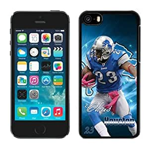 NFL&Detroit Lions-Chris Houston_iPhone 5C Case Gift Holiday Christmas Gifts cell phone cases clear phone cases protectivefashion cell phone cases HLNA605585431
